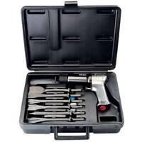 Ingersoll Rand 121-K6 Air Hammer Tool Kit W/ 6-Pc Chisel Chiseling Kit IR121-K6