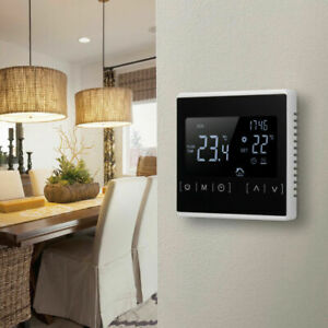 Digital Underfloor Heating Thermostat Temperature Controllers Programmable Touch