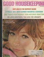 Good Housekeeping Magazine June 1969 Shirley MacLaine Julie Nixon