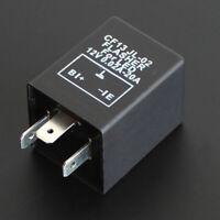 3 Pin 12V Car Flasher Relay Fix LED Light Turn Signal Hyper Flash CF13 JL-02