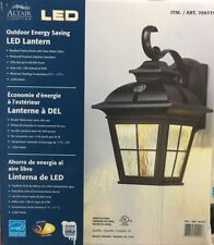 Altair Outdoor Energy Saving LED Clear Glass Oil Rubbed Bronze Lantern AL-2163