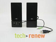Cyber Acoustics CA-2016 USB Powered Computer Speaker System (Black)