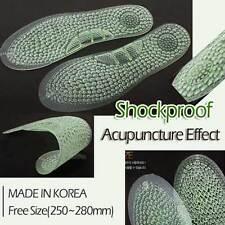 Foot Insoles Stink Remove Ventilation Stimulate Acupressure Massage Stress Relax