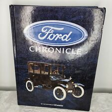 FORD CHRONICLE Book from CONSUMERGUIDE Hard Cover Coffee Table Book Color Pics