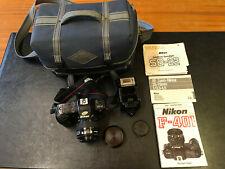 Nikon F-401 35mm Film SLR Camera & Nikkor AF 35-70mm Lens,In Blue Case