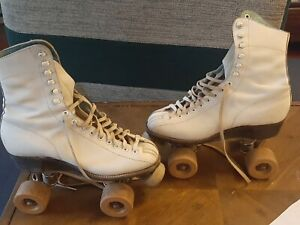 Vintage Betty Lytle By Hyde Roller Skates  Size 4 Pated 1914 Leather Ebr1