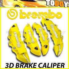 For Chevrolet 4pcs Yellow Disc Racing Brake Caliper Cover # 16-18 inch wheels