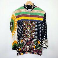 Vintage Exclusive Paragraff Clothing Co Patchwork Jacket Women's Size Medium M
