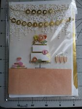 Hallmark Signature 3D Wedding Cake And Decorations Happy Wedding Day Card