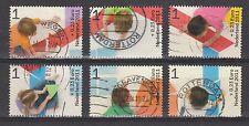 NVPH Nederland Netherlands nr 2886 a - 2886 f used Kinderzegels 2011 Pays Bas