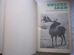 """""""Unsere Jagd"""" 28.Jahrgang, 1978 , DDR - Jagd Zeitung,Hege,Pirsch, SELTEN"""