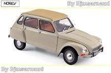 Citroën Dyane 6 de 1970 Erable Beige NOREV - NO 181620 - Echelle 1/18