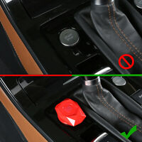 Car Engine Start Stop Push Button Knob Key Switch Decor Protection Accessories