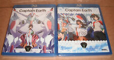 Captain Earth: Collection 1  & 2 Blu-ray Disc NEW