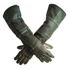More details for anti-bite gloves for cats and dogs thick soft leather  anti scratch  resistant