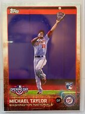 2015 Topps Opening Day #14 Michael Taylor Nationals Royals RC (i164)