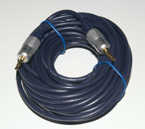 10 Meter HQ 3.5mm Stereo Jack to Jack Audio Lead with OFC Cable 10m