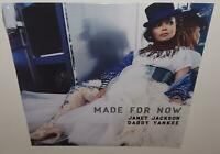 "JANET JACKSON MADE FOR NOW REMIXES (2019) BRAND NEW SEALED 12"" RED VINYL SINGLE"