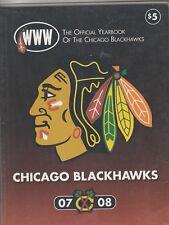 2007 08 Chicago Blackhawks Yearbook Patrick Kane Jonathan Toews Rookie Season