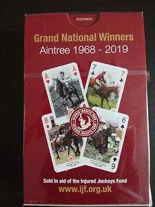 Grand National Winners Playing Cards new sealed.