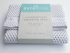 Extra Thick Cushioned Suction grip Non Slip BATH SHOWER MAT 52cm X 52cm