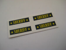 Corgi Juniors NO61Mercury Cougar Sheriff Car Stickers - B2G1F