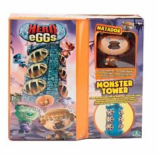 Mega Headz Monsters Tower Playset inc Exclusive Matador Figure NEW 2018