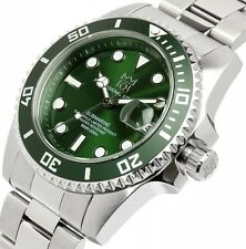"101 HYAKUICHI 200m Scuba DIVERS ""AUTOMATIC"" Watch CITIZEN Movement Green New F/S"
