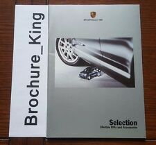 Porsche Selection Lifestyle Gifts and Accessories 11/2003 Brochure Specials 1:43