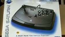 Official Sega ARCADE VIRTUA fighter stick controller game pad noir neuf