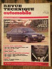 Revue Technique Automobile LANCIA Dedra essence et diesel