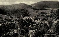 Wildemann Oberharz Niedersachsen alte Ansichtskarte 1957 Gesamtansicht Panorama