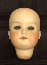 Antique German Bisque Doll Head Armand Marseille Mold 390