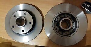 Jeu de 2 disques de frein arrière TRW : DF6182 NEUF RENAULT megane 432001539R