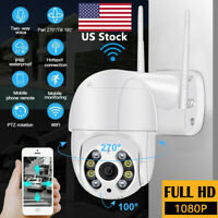 ICSEE 1080P WIFI IP Camera Wireless Outdoor CCTV PTZ Smart Home Security IR Cam