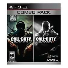 Call of Duty: Black Ops 1 & 2 (Sony PlayStation 3, 2015)