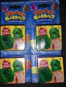 NEW Lot of 4 Silly Putty Buddeez Blind Packs/ USA Seller 🇺🇸🇺🇸🇺🇸