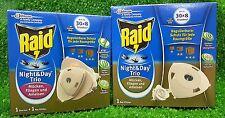 AKTION! RAID INSEKTENSTECKER Starterpack+1x  NACHFÜLLER  extra!  Mückenschutz