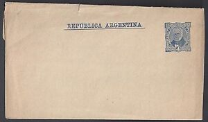 ARGENTINA 1910 4c NEWSPAPER WRAPPER SMALL REPAIRED AT TOP SEE SCAN