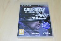 NEW Call Of Duty Ghosts Game  PS3 Playstation 3 UK Pal Factory sealed English