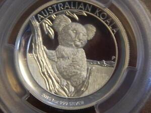 2015-P 1 oz. $1 Australia Koala Silver High Relief PCGS PR69 DCAM