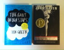 Lot 2 JOHN GREEN books (Hardcover) The Fault in Our Stars, Looking For Alaska