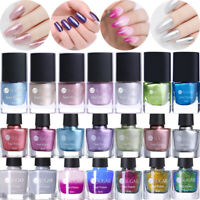 UR SUGAR 6ml Metal Nail Polish Mirror Chameleon Shining Nail Varnish Design