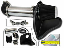 BLACK AIR INTAKE KIT + HEAT SHIELD FOR 05-10 Challenger 300C HEMI 5.7L 6.1L V8
