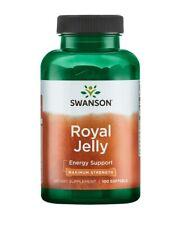 Swanson Premium Royal Jelly Maximum Strength 1000mg 100 Softgel Fertility Energy