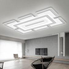 Modern Acrylic LED Ceiling Light Elegant Ultrathin Ceiliing Lamp in Rectangle