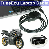 DUCATI TRIUMPH BENELLI Motorbike Diagnostic Cable + Tuneecu Tune ECU CD + maps