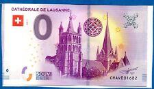 BILLET - SOUVENIR 0 € - SUISSE - LAUSANNE - 2018-1b - n° 1682 CHAV
