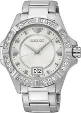 Seiko SUR809 SUR809P1 Ladies Dress Watch Crystals WR30m NEW RRP $475.00