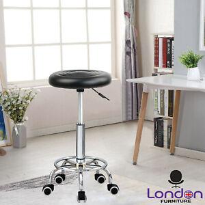 360° Adjustable Swivel Salon Stool Massage Spa Beauty Barber Bar Chair Gaslift